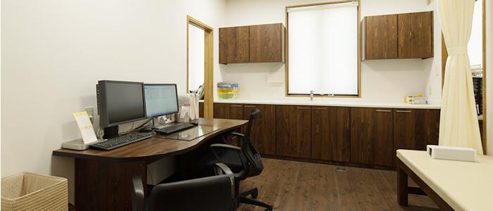 あさのクリニック診察室